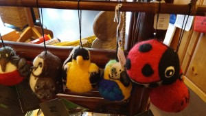 Felted wool animals, LaLoca