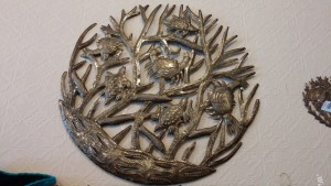 Metal wall art, LaLoca